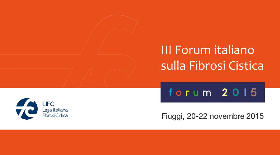 III Forum Italiano sulla Fibrosi Cistica