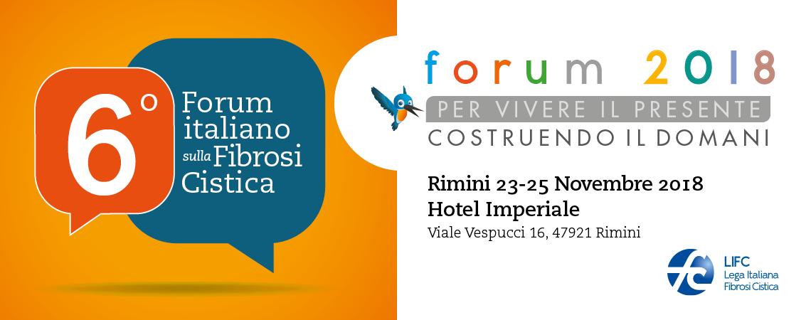 6° Forum italiano sulla Fibrosi Cistica